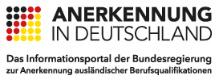 Logo - Anerkennung in Deutschland